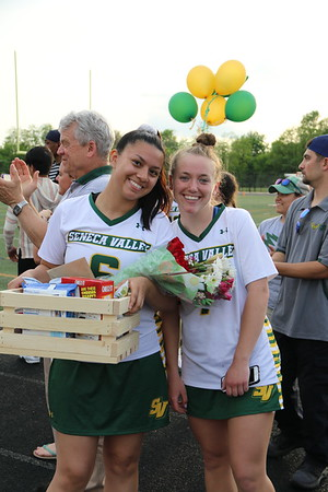 V Girls Lacrosse vs. Gaithersburg HS Boys and Girls Lacrosse senior night 5/2/2019