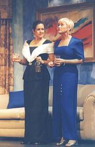 Nancy Dall and Dani Wildason