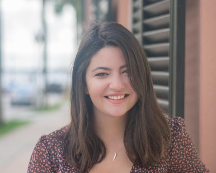 Gracie's Senior Pics - Charleston
