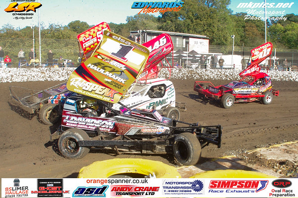 BriSCA F1 Shout Out round 8