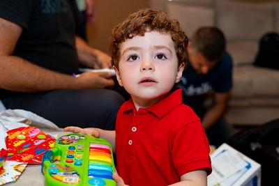 Aniversário 3 Anos Miguel Serrador
