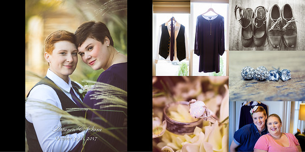 Sarah & Autumn Wedding album Preview