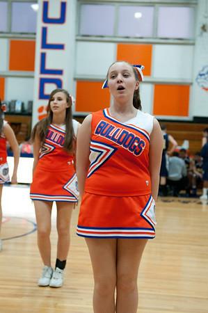 2011-02-01 Cheerleaders - Dayton vs Brearley
