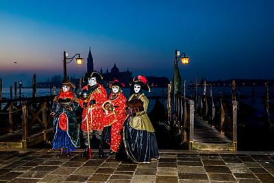 Venice at Carnival 2017