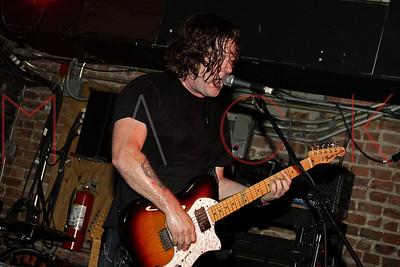 New York, NY - December 18:  John Wozniak of Marcy Playground performs at Mercury Lounge, New York, USA.