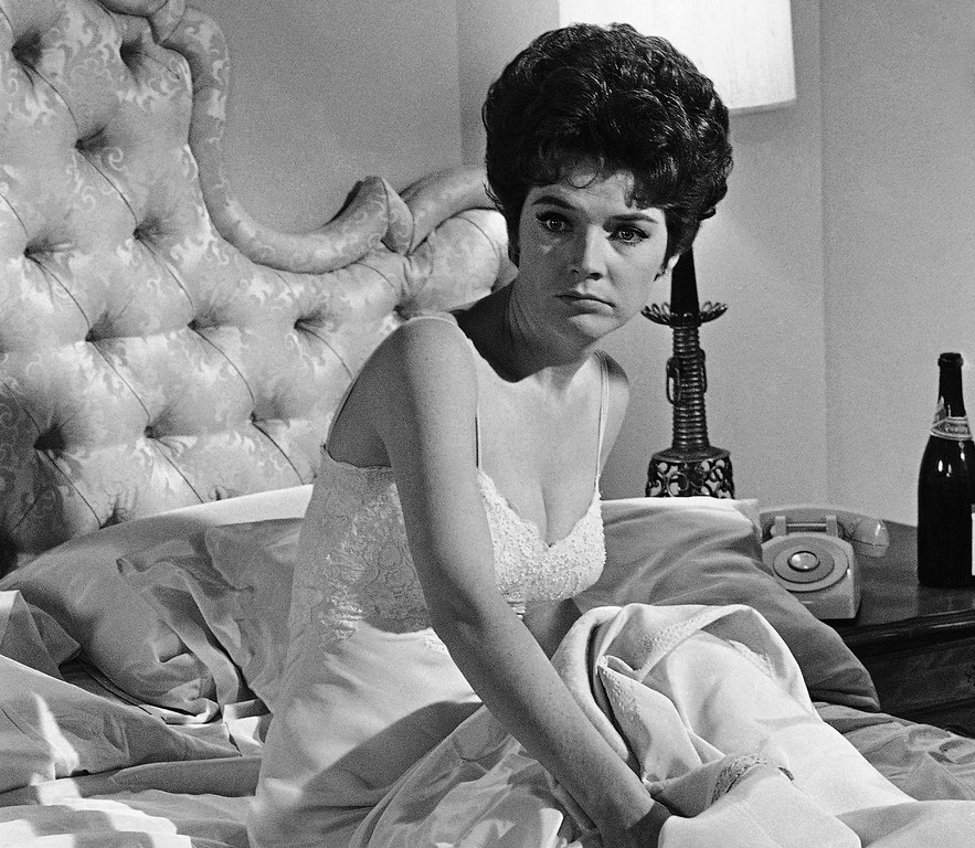 . Polly Bergen in a scene in �Move Over, Darling,� a movie filmed in Hollywood on July 18, 1963.  Bergen died on Saturday, September 20, 2014. She was 84.  http://bit.ly/1ri3qfW   (AP Photo/Don Brinn)