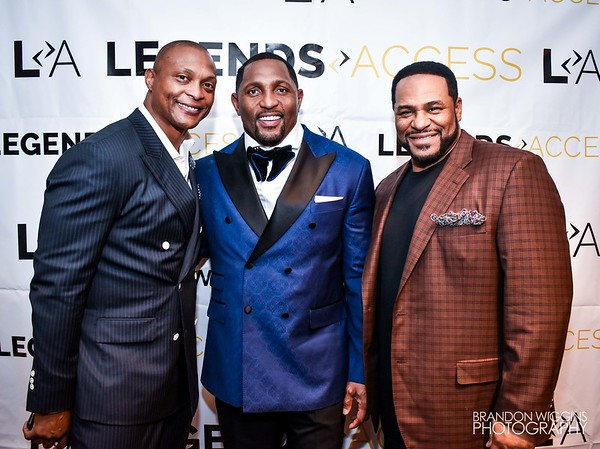 Ray Lewis Gold Jacket Party With A Purpose