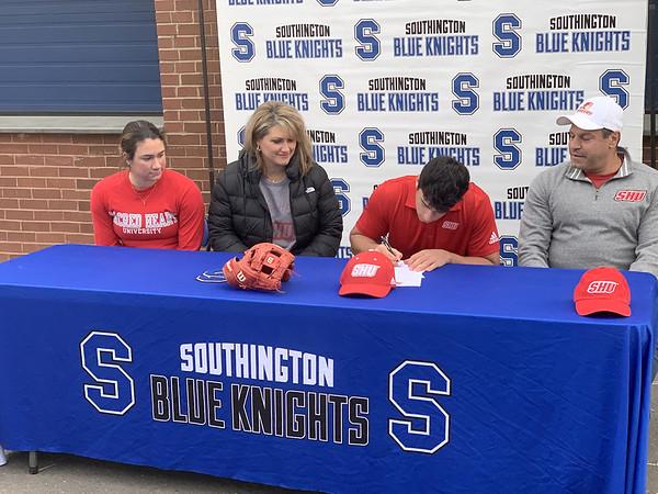 Southington Signing 3 11-17-20