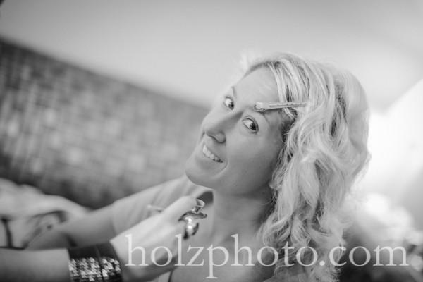 Casey & Joe B/W Wedding PHotos