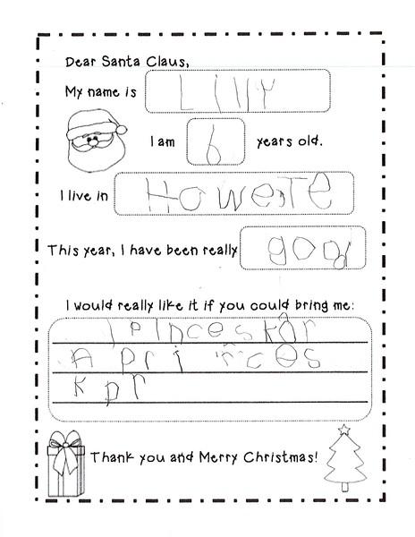 2018 Kindergarten - Mrs. RIchardson Letters to Santa (4).jpg