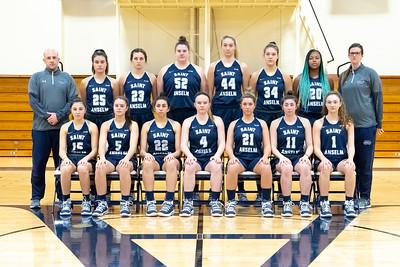 2018-19 Women's Basketball Team Photos