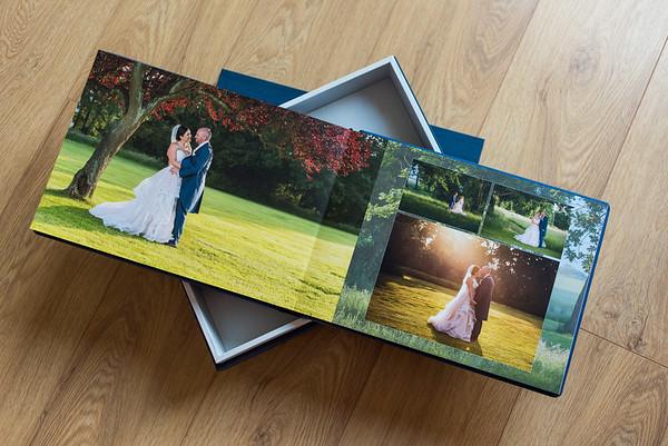 Sue & Paul Graphi Studio Wedding Album & Parent Album