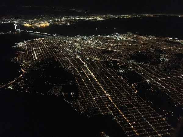 Leaving San Francisco and the Bay Area
