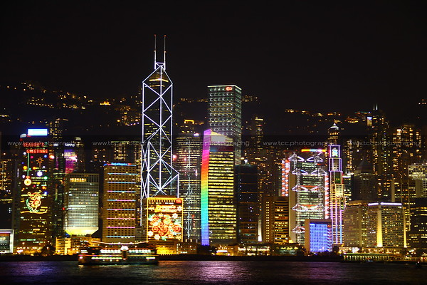 HONG KONG: Victoria Harbour
