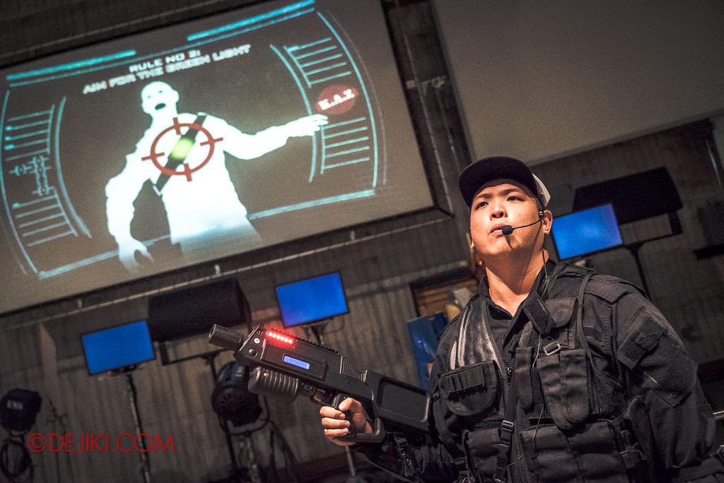 Halloween Horror Nights 7 Zombie Laser Tag - Sergeant Hu