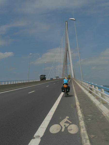 Mi 18.5./Do 19.5.11, Anreise. Wthur - Le Havre - Honfleur, ca. 1100km (Auto)