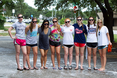 WHS Volleyball Car Wash 2010