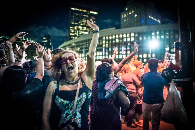Donna Summer Night Revelry, City Hall Plaza, Boston MA