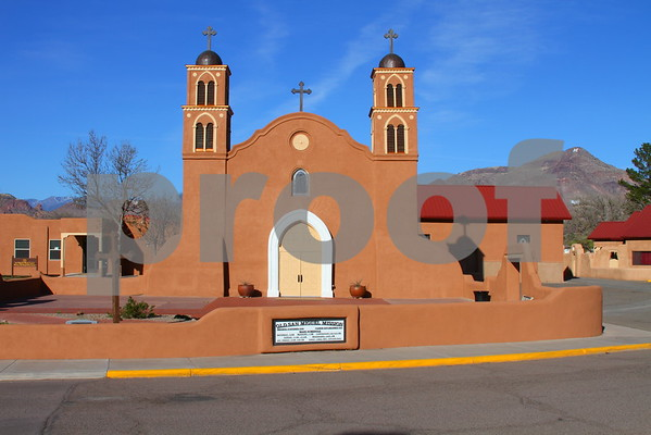 San Miguel Church - Socorro Plaza