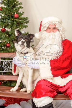 Santa at the ATC