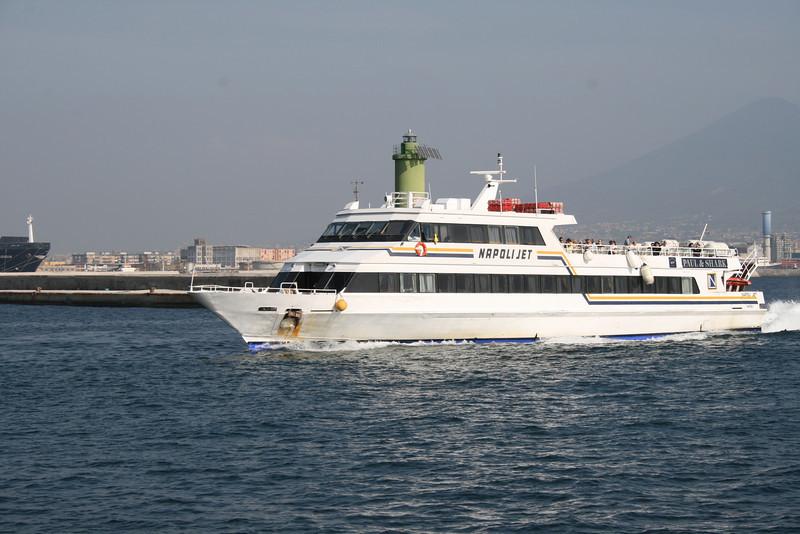 2008 - NAPOLI JET arriving to Napoli.