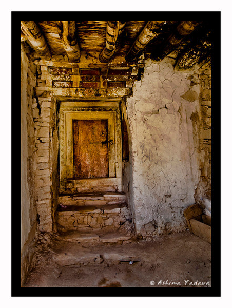 """Behind Closed Doors""<br /> <br /> Hemis Monastery, Ladakh.<br /> <br /> Hemis Monastery is a Tibetan Buddhist monastery (gompa) of the Drukpa Lineage. Situated 45 km from Leh, the monastery was established in 1672 by the Ladakhi king Senge Namgyal."