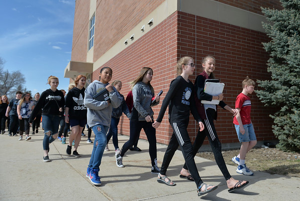Sheridan students participate in national walkout