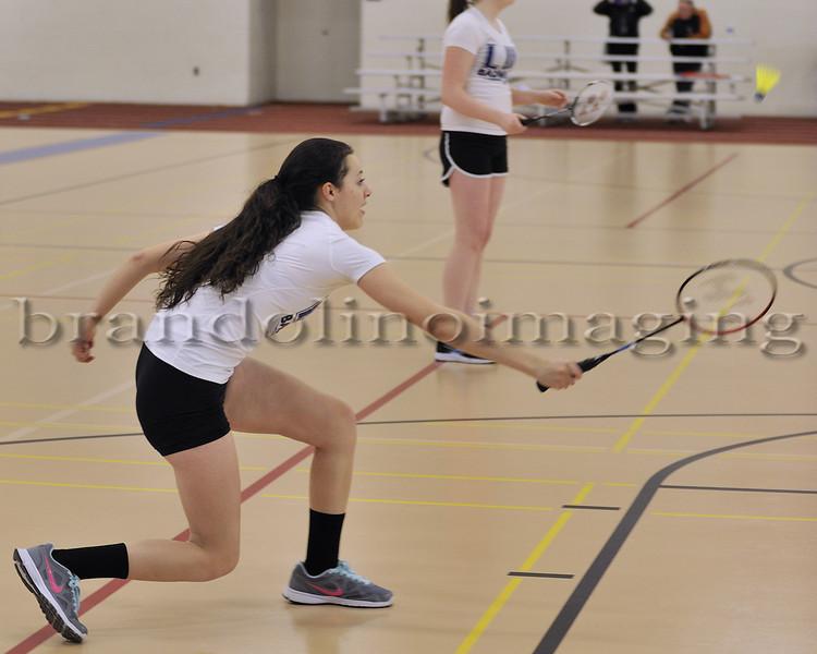 Lincoln-Way East Freshmen Badminton 2014