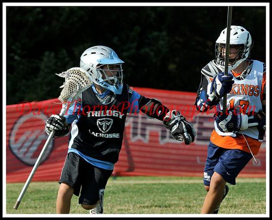 Lacrosse - Trilogy Sweet Laxin  NNJ U-15 White July, 2009