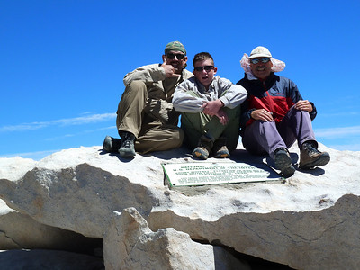 Mt. Whitney Mountaineer's Route - August 22, 2010