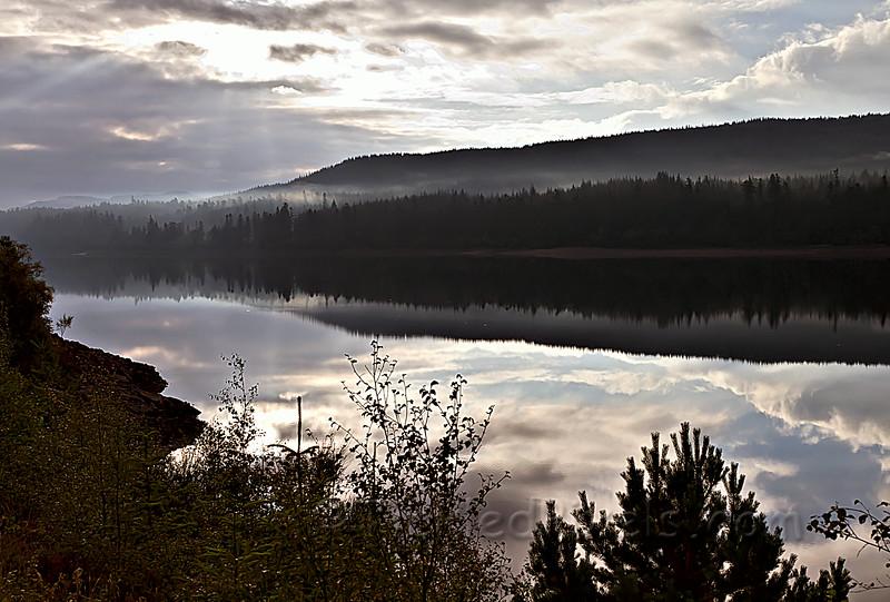 Loch Laggan Morning