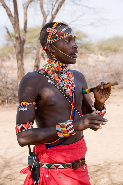 Dowdy, our Samburu Warrior guide