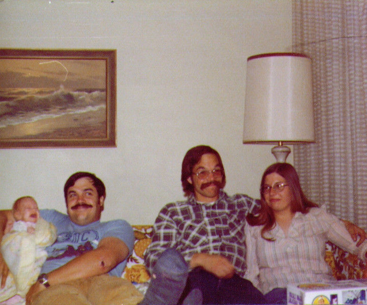 Crissy,Mike,Dave & Connie, 4-6-1976 .jpg