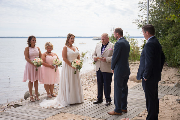 Lisa + Troy Traverse City Wedding Old Mission Peninsula
