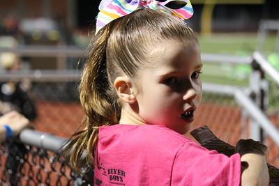 Oct 2012 - Miranda Reagan Cheer Clinic and Game