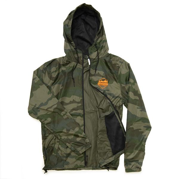 Organ Mountain Outfitters - Outdoor Apparel - Hooded Jacket - Windbreaker Zip Up - Classic Camo Orange.jpg
