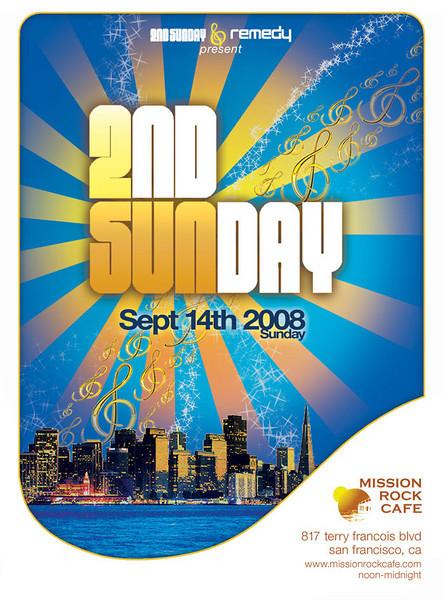 2nd Sunday @ Mission Rock Cafe 9.14.08