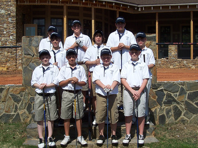 Middle School Golf 2007-08