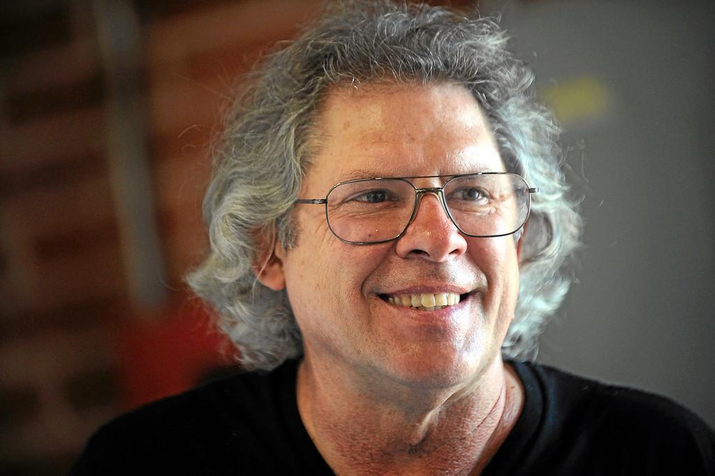. Christopher Slatoff is a Glassel Park sculptor September 4, 2013.(Andy Holzman/Los Angeles Daily News)