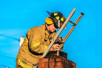 11-14-17 West Lafayette FD Chimney Fire