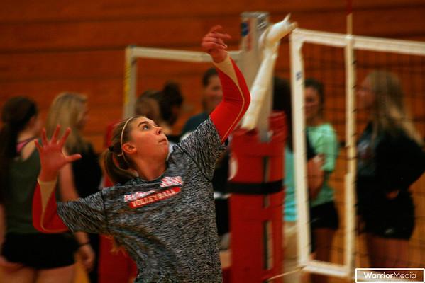 Volleyball vs. Prairie Heights