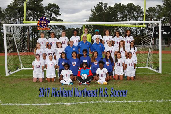 2017 Girls Soccer Varsity