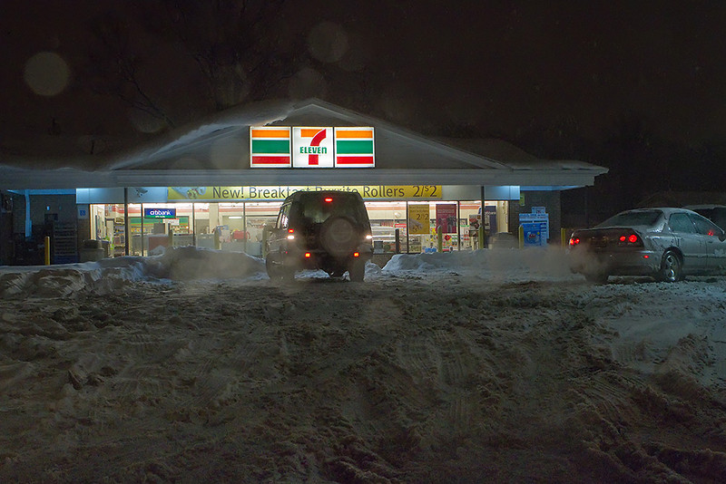 7-11 probably did brisk business.