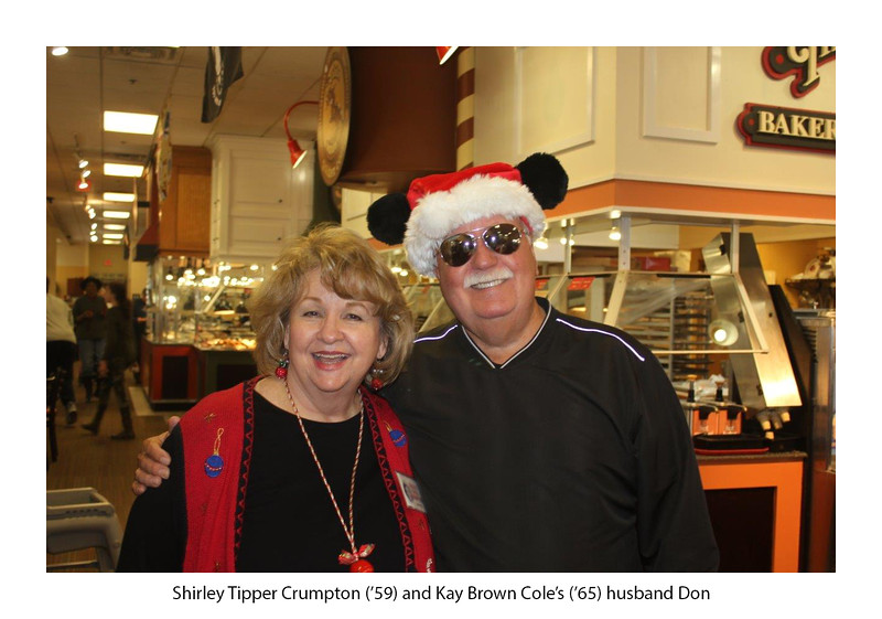 Shirley Tipper Crumpton '59 and Don Cole, husband of Kay Brown Cole '65.jpg