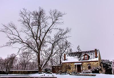 Lincoln Winter Walk