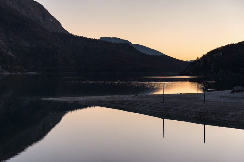 Evening Twilight - Lago di Molveno, Molveno, Trento, Italy - October 29, 2016