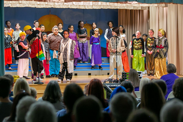 Elkridge Elementary Aladdin Jr. Musical 20-21 February 2020