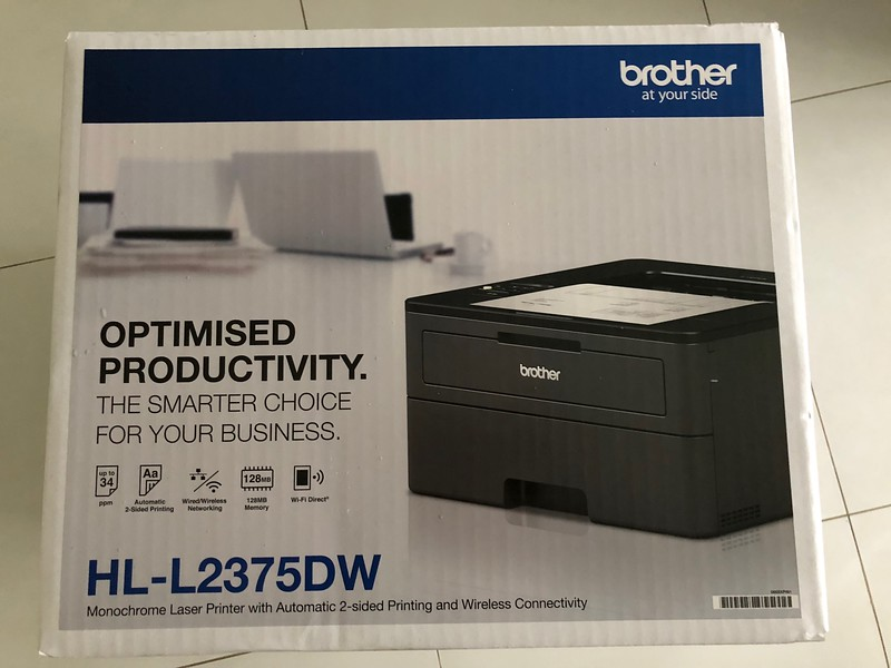 Brother HL-L2375DW Laser Duplex Printer
