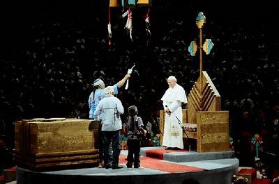 Pope John Paul II photos by Fr. Jack
