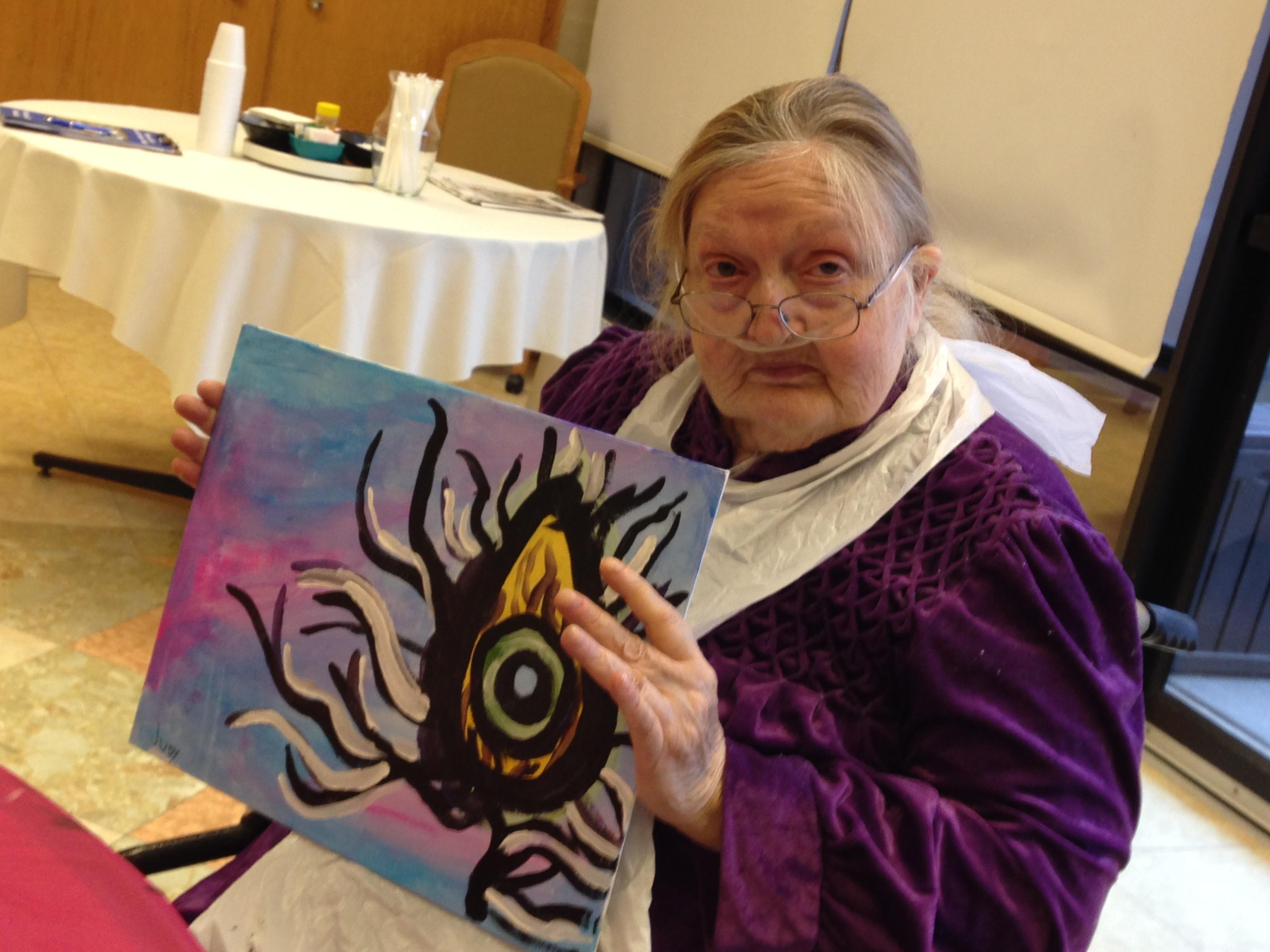 Euclid Pavilion Painting Party 2/8/16